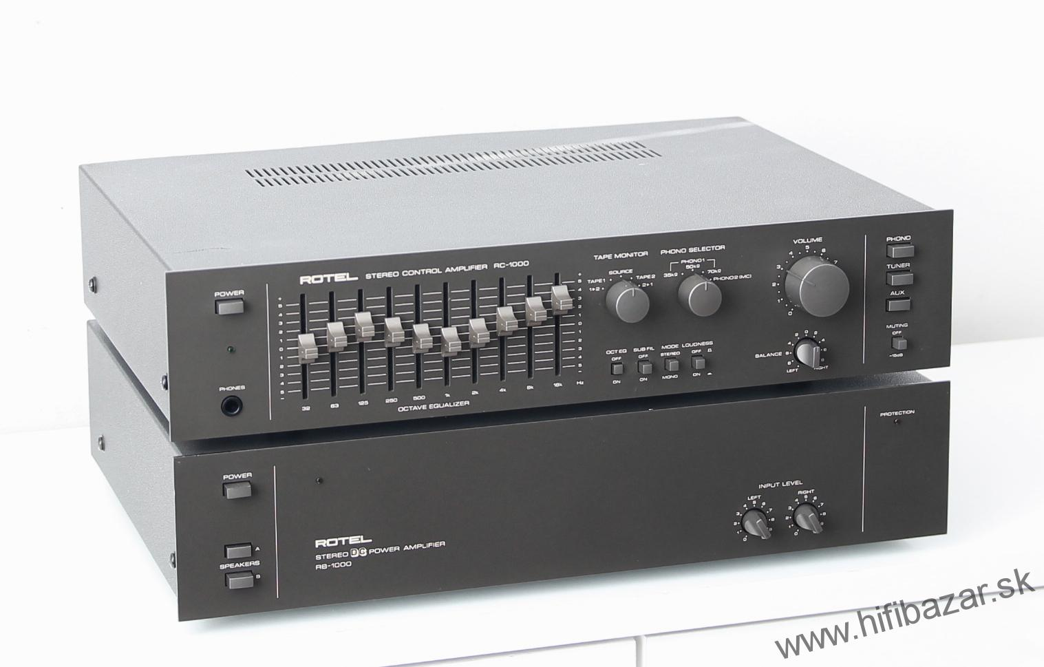 ROTEL RC-1000 + ROTEL RB-1000