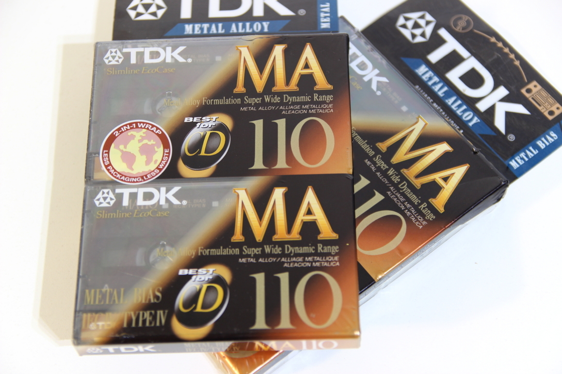 2x TDK MA-110 Position Metal