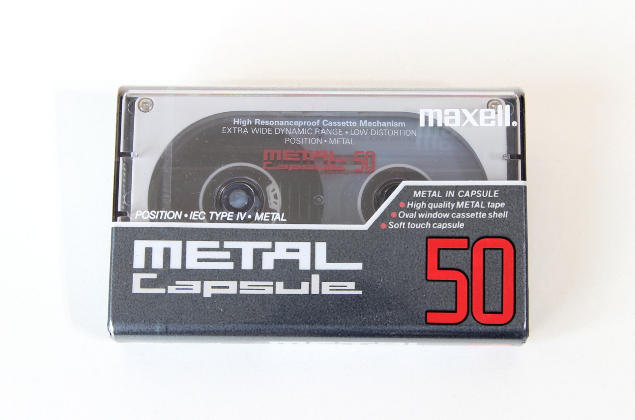 MAXELL CAPSULE-50 Position Metal