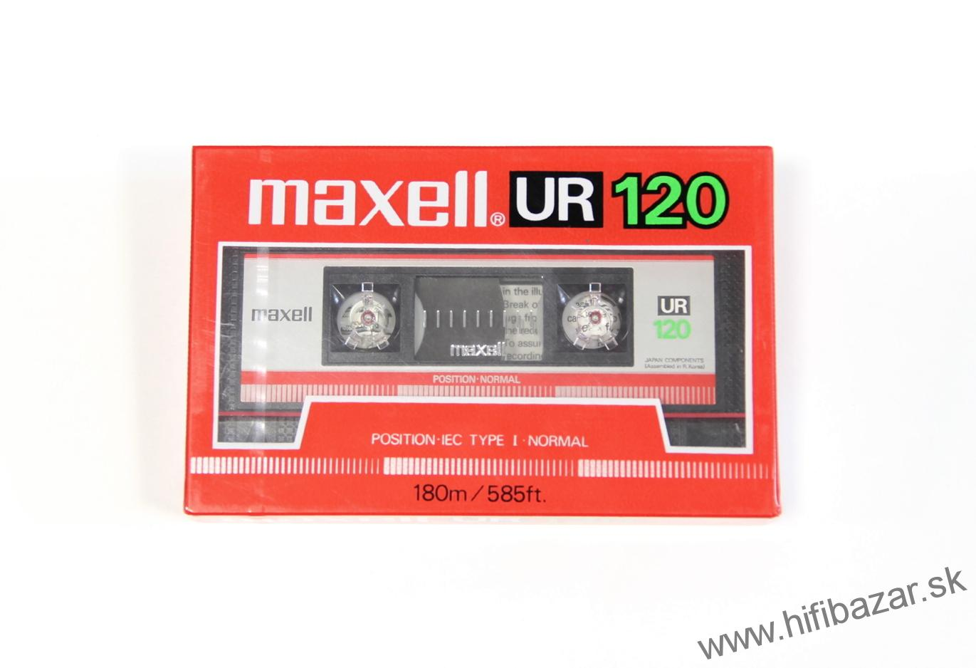 MAXELL UR-120 Position Normal