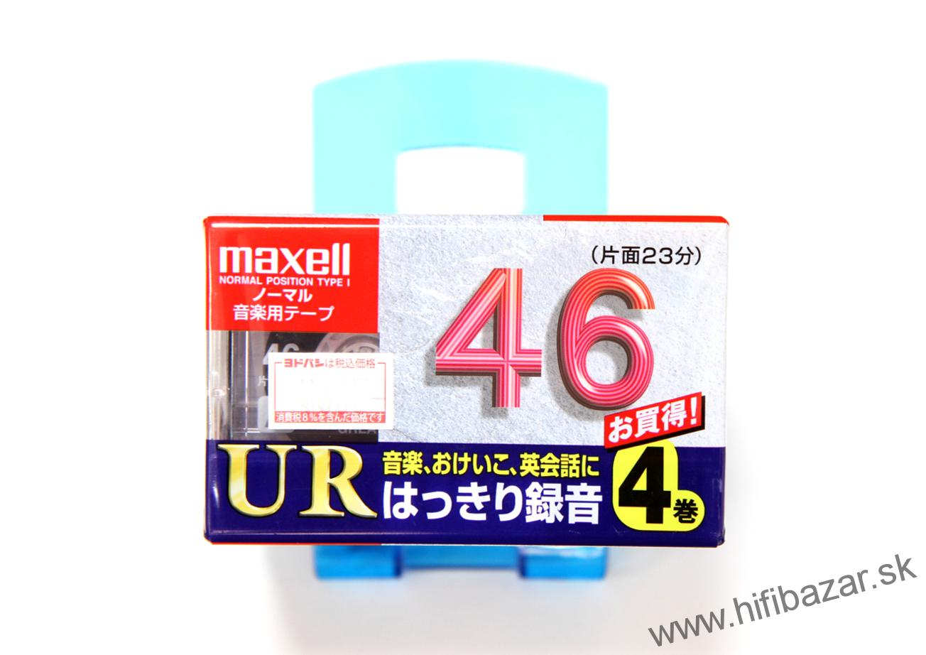 MAXELL UR-46 Japan 4PACK