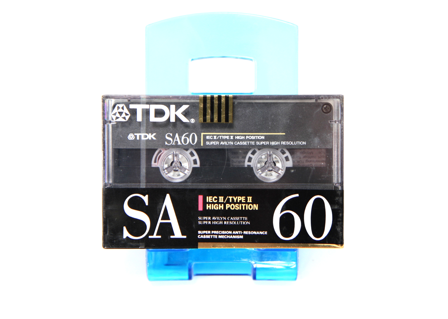 TDK SA-60 Position Chrome