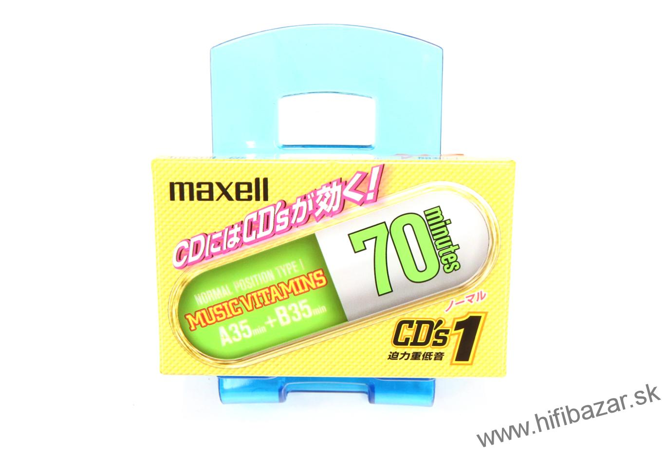 MAXELL CD's1-70 Japan