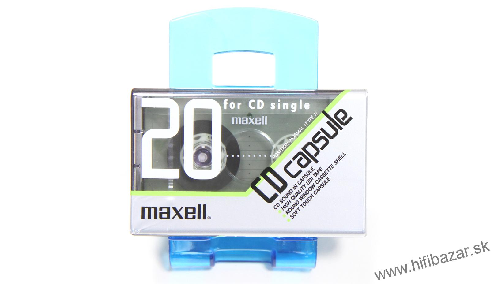 MAXELL C-CP20 Position Normal