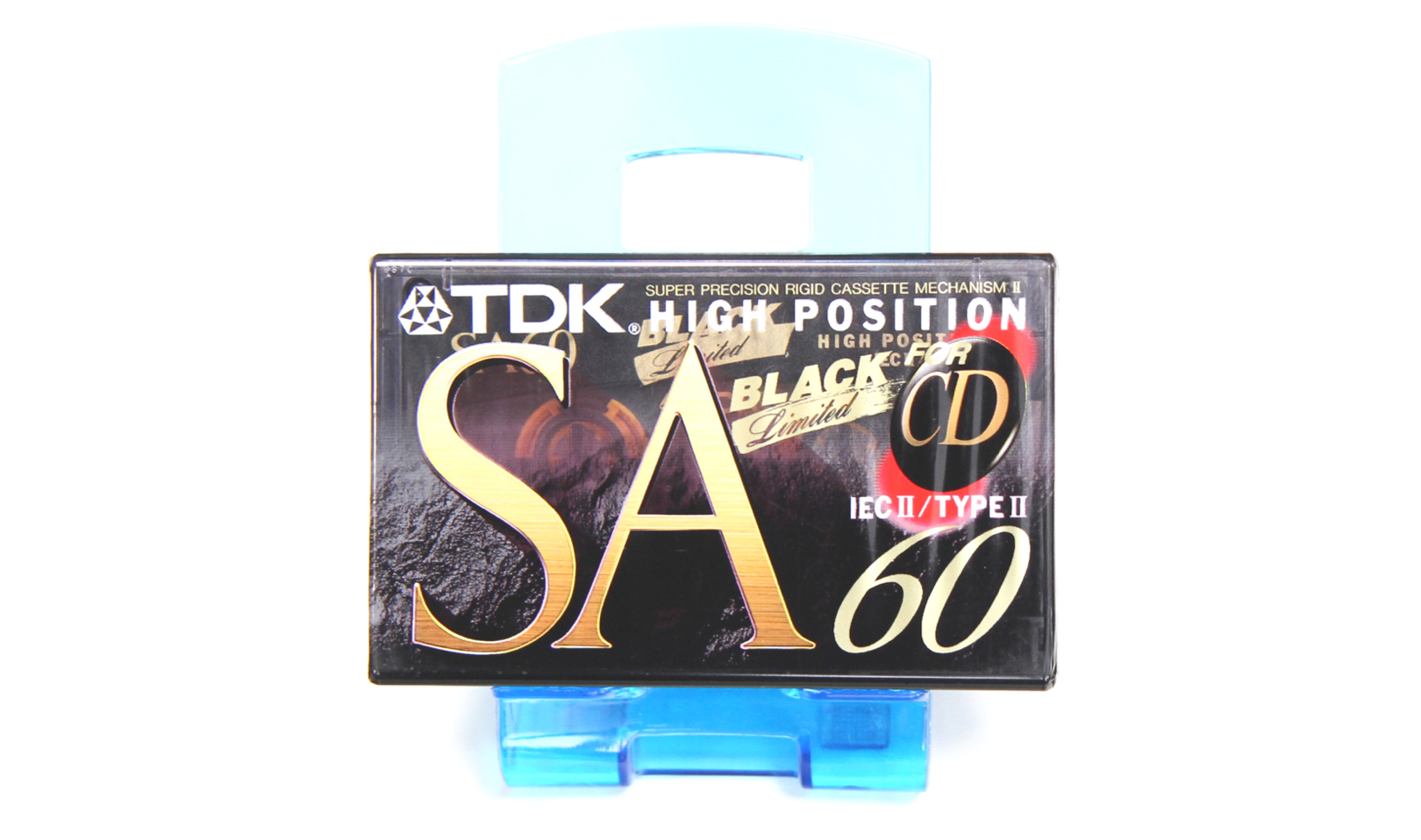 TDK SA-60 Black Limited