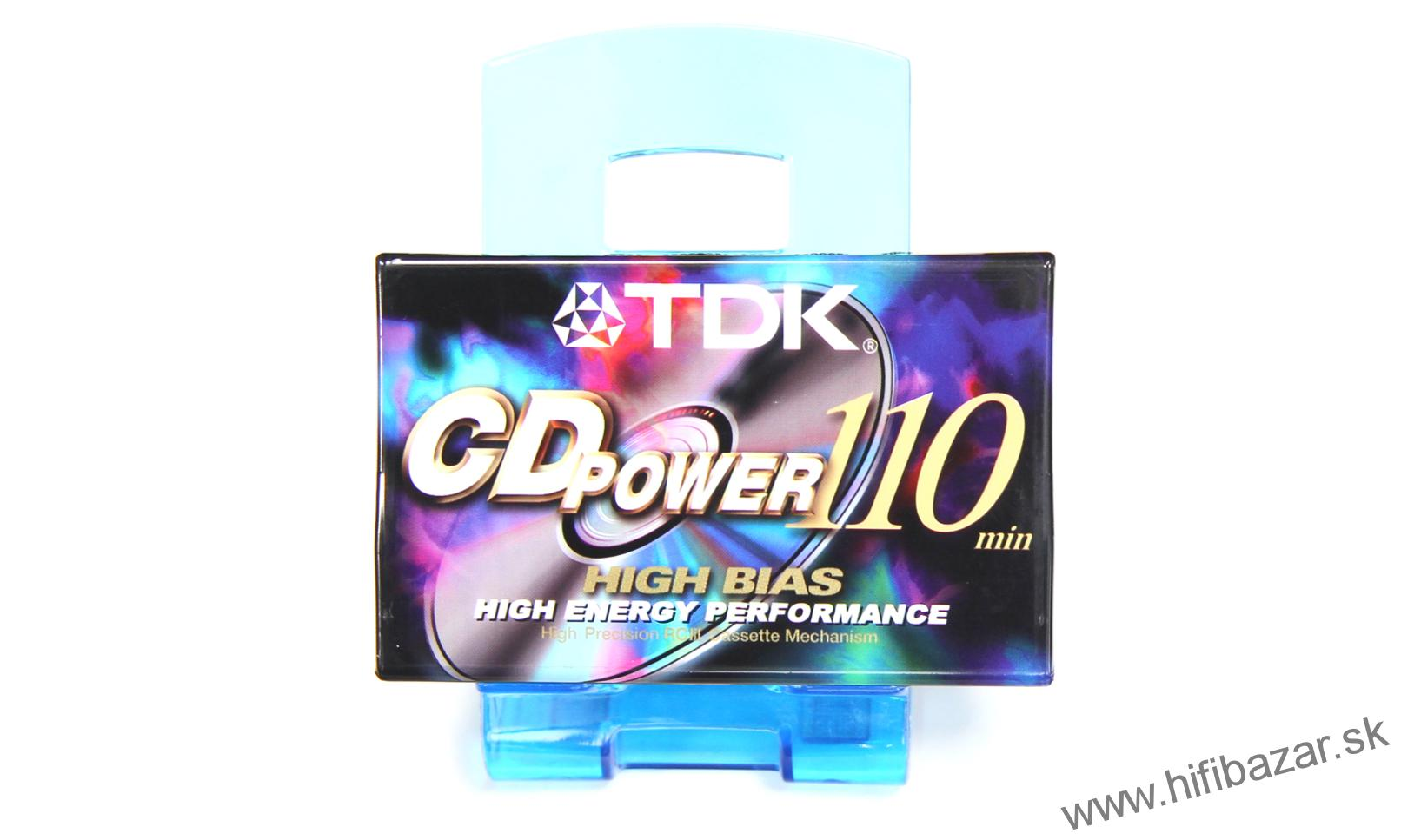 TDK CDPower110 Position Chrome