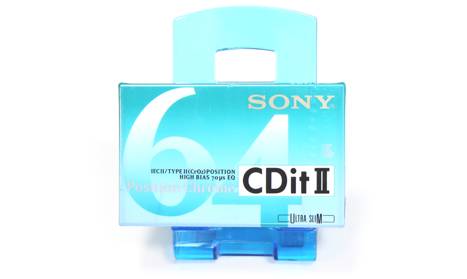 SONY CDit II-64 Position Chrome