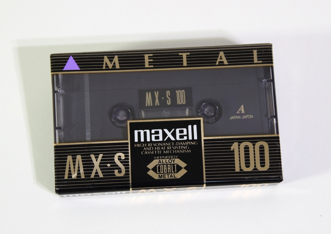 MAXELL MX-S100 Position Metal
