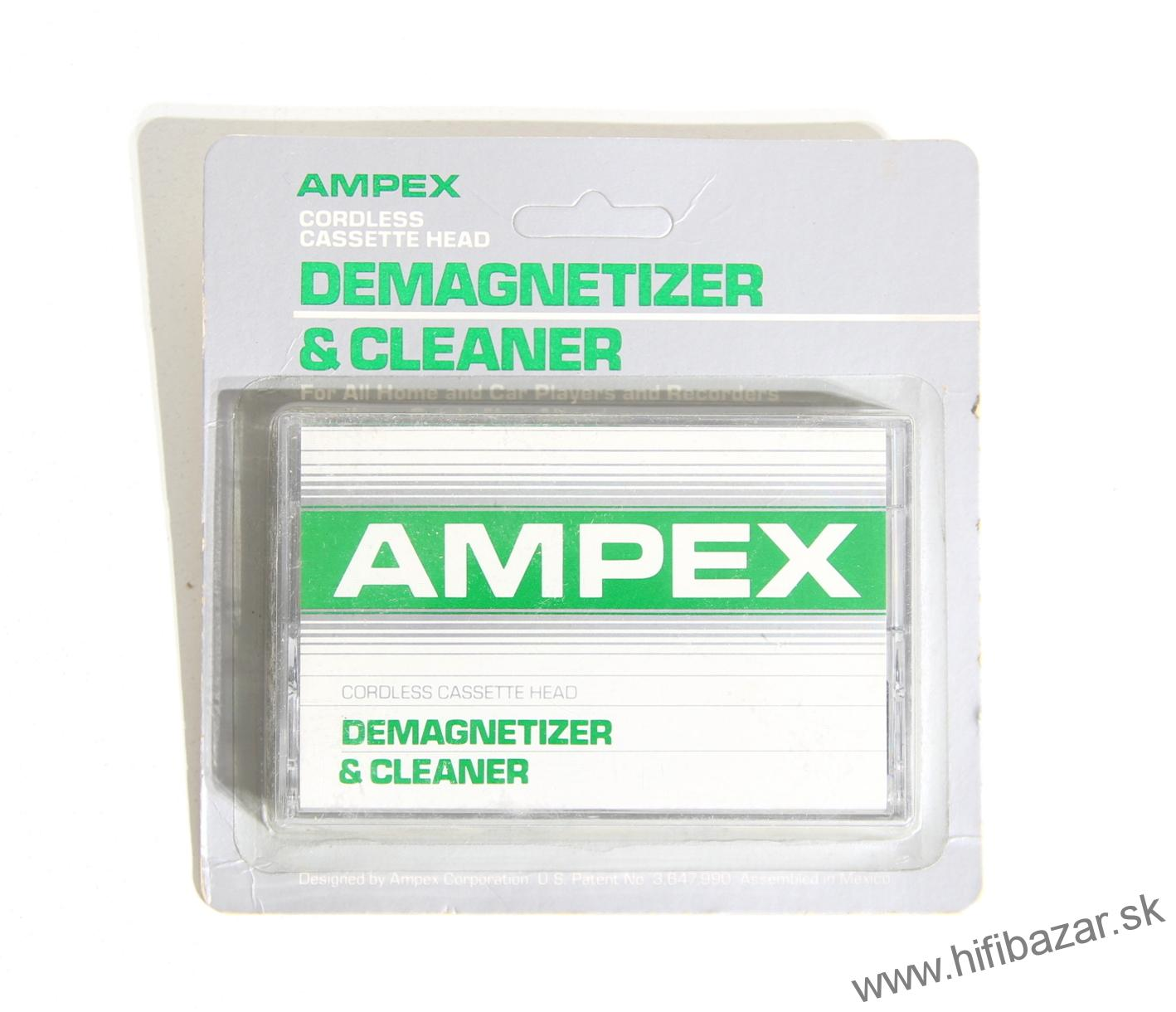 AMPEX Demagnetizer & Cleaner