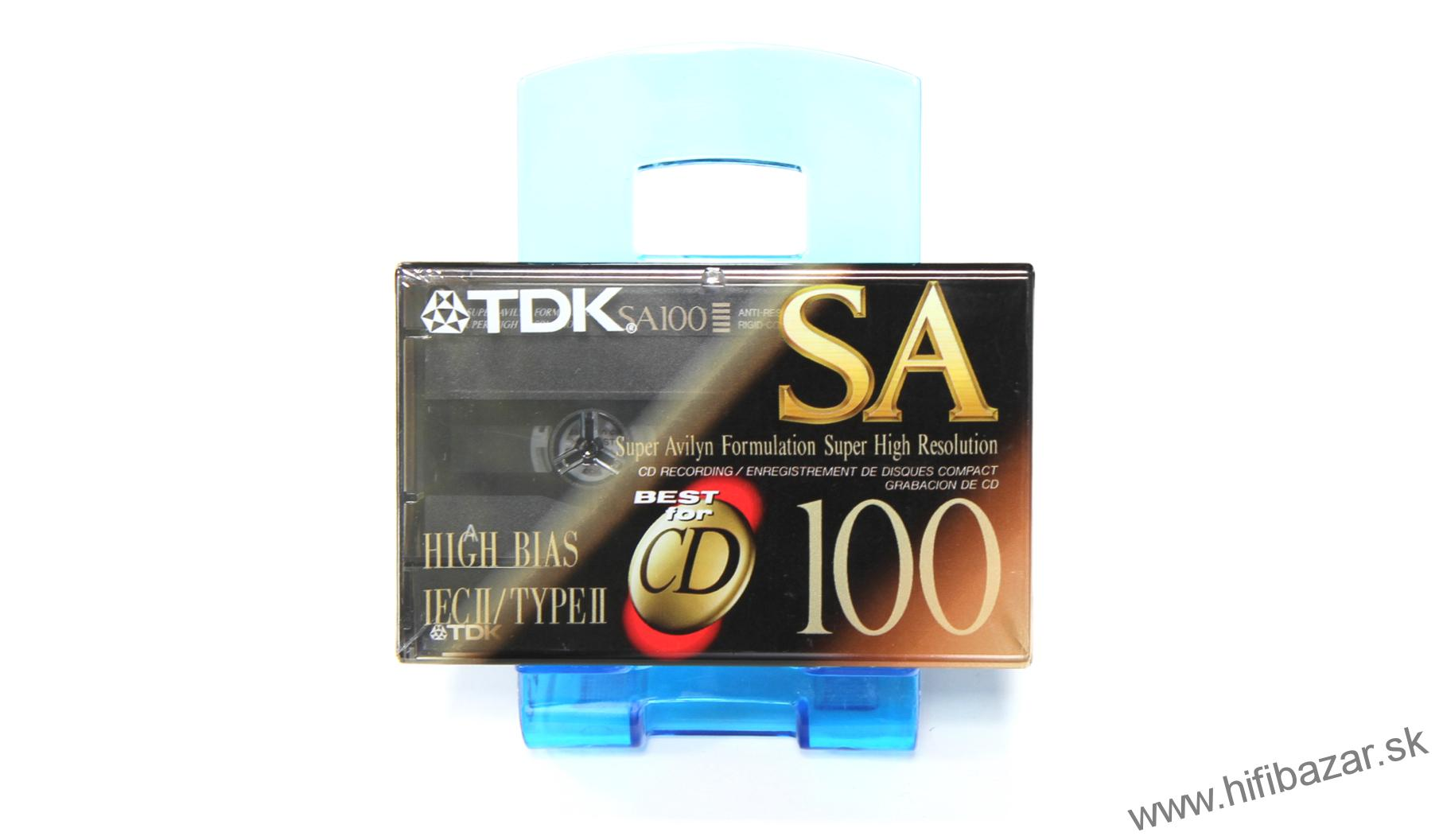 TDK SA-100 Position Chrome