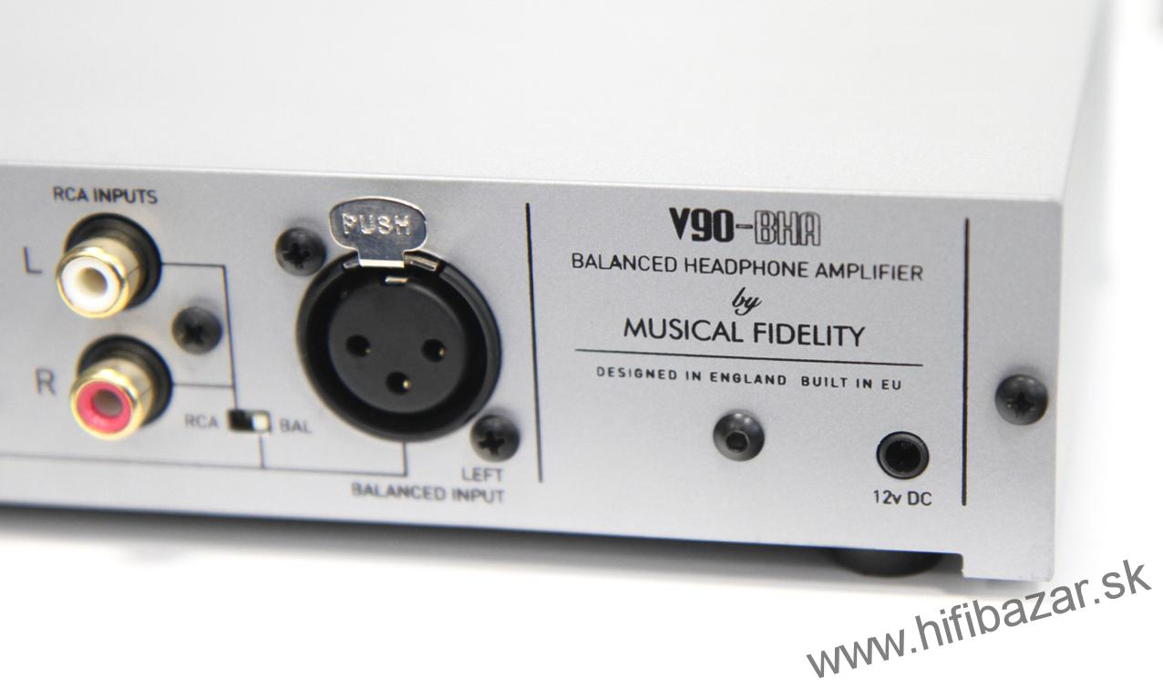 MUSICAL FIDELITY V90-BHA Balanced Headphone Amplifier
