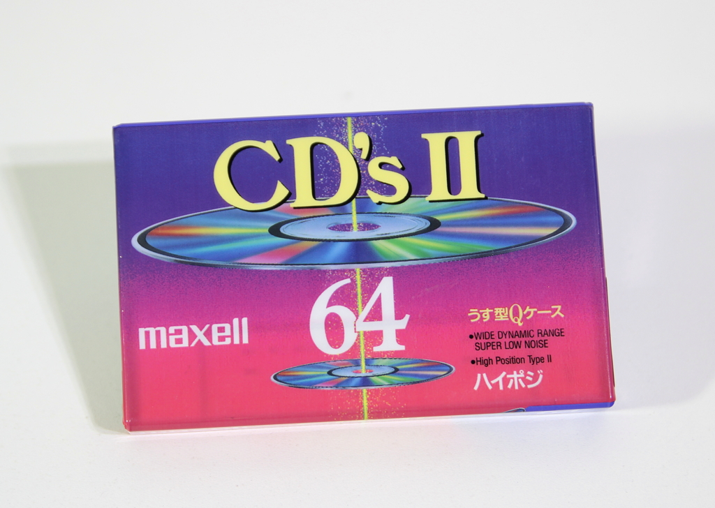 MAXELL CD'sII-64 Japan
