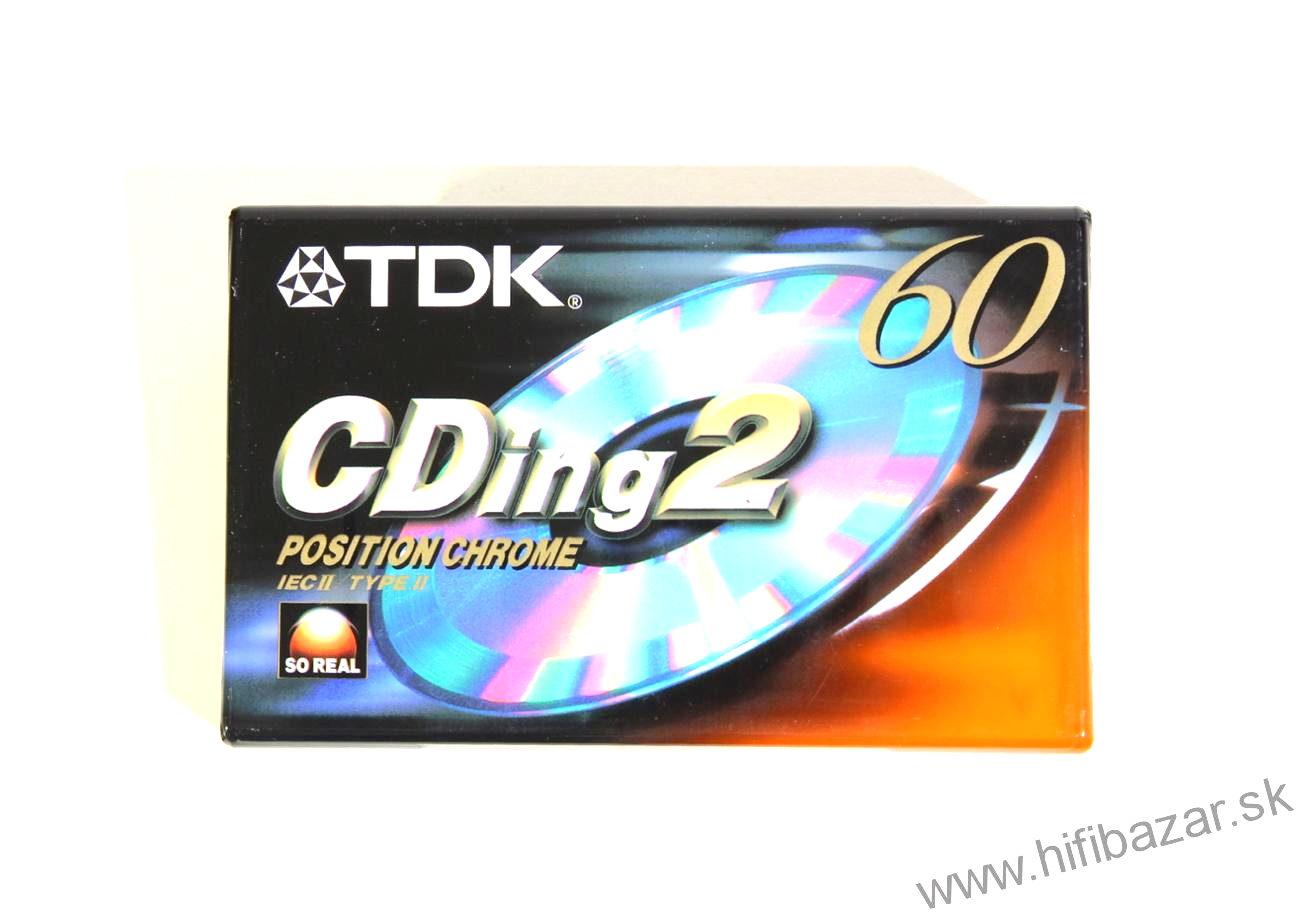 TDK CDing2 60 Position Chrome