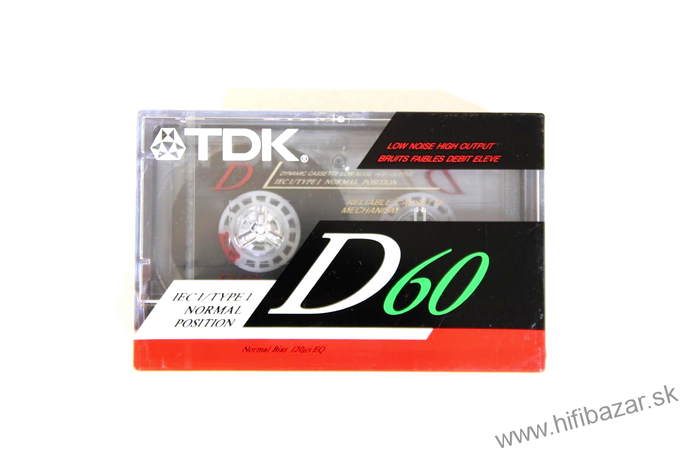 TDK D-60 Normal Bias