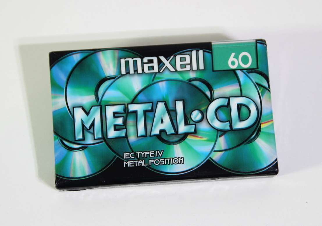 MAXELL CD-60 Position Metal