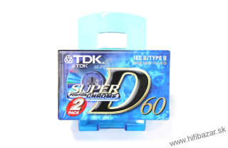 TDK D-60 Super Chrome 2PACK