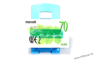 MAXELL WE2-70 Japan