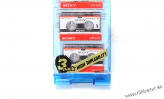 SONY MC-60 Microcassette 3PACK