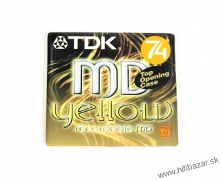 TDK MD-74 YELLOW