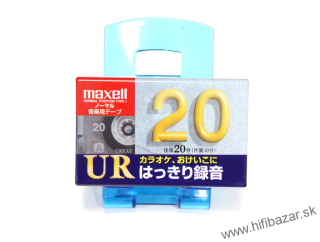 MAXELL UR-20 Japan